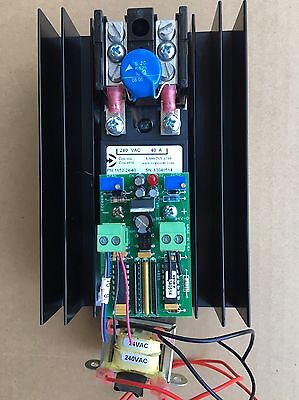 Control Concepts SCR Power Controller   1025-24-40-4/20MA