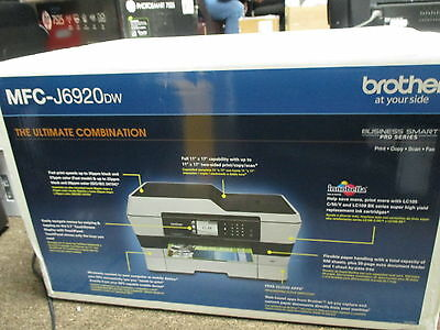 NEW Brother MFC-J6920DW Wireless All-In-One Printer with Scanner, Copier, Fax