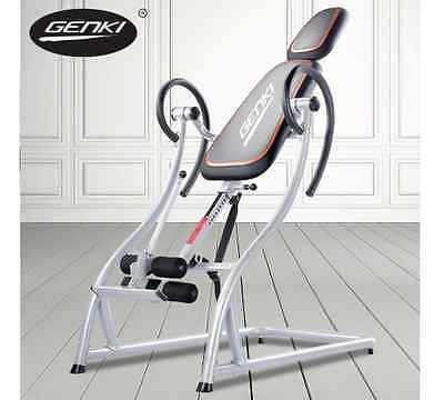 Inversion Gravity Table Fitness Machine Back Pain Relief Non Stress