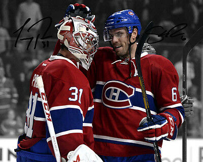 Carey Price Shea Weber Montreal Canadiens Signed Autograph Reprint