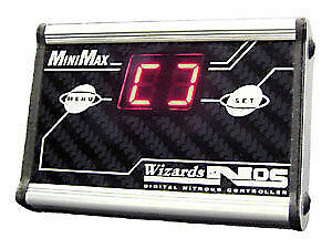 Wizards of NOS Minimax Compact Digital Progressive Nitrous Oxide Controller