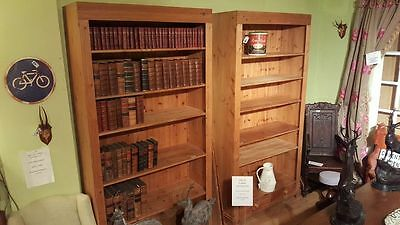 Pair of Pine Bookcases
