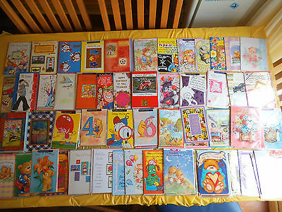 Job lot 1200 Cards Birthday Ages relatives friend belated get well anniversary