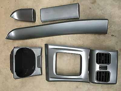 Ford Falcon Ba Bf Xr6 Xr8 Silver Dash Plastics / Highlights.