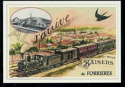 FORRIERES -......TRAIN  ...    souvenir creation moderne serie numerotee