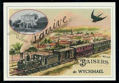 WYCHMAEL -....  TRAIN  ...  souvenir creation moderne serie numerotee