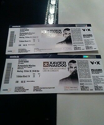 3x xavier naidoo tickets olympiahalle m nchen eur 210 00 picclick de. Black Bedroom Furniture Sets. Home Design Ideas