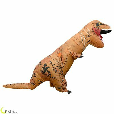 ADULT T-REX Costume gonflable Jurassic World Park Blowup Dinosaur
