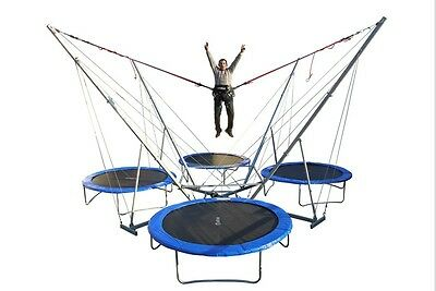 Neu 4er Bungee Trampolin (Made in Germany)