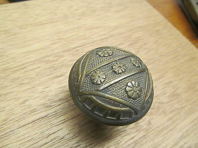 Old Eastlake ?? Linde Brass?? Bronze ?? Door Knob Nice Detail