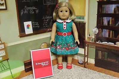 """American Girl Kit's """"Meet Outfit + Barrette"""" BeForever (NO DOLL)  COMPLETE - NIB"""