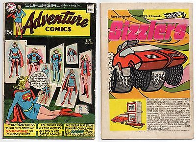 Adventure Comics #397 1St Appearance Nasthalthia Luthor & New Supergirl Costume