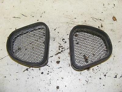 Kawasaki Zx7R Pair Of Air Scoop Grills, Air Intake Mesh, Ram Air Fairing