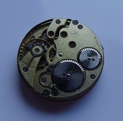 IWC S&Co Peerless vintage antique fob wrist watch movement hunter dial hands