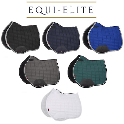 LeMieux Pro Sport Suede Euro Jump Square - Close Contact Showjumping Saddlepad