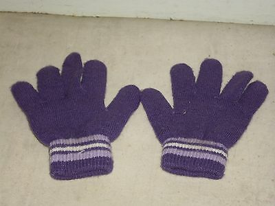 Child's Purple Gloves