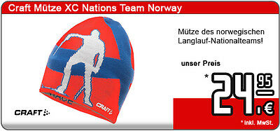 Craft Skilanglauf Mütze XC Nations