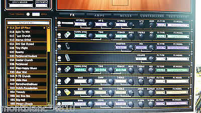 Line 6 POD HD500X - Over 9000 Patches / Presets for Line 6 POD HD500X