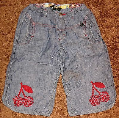 Oilily Denim Picnic Shorts / Boomers - 7 to 8 years