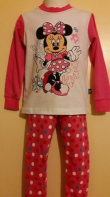 Girls kids children clothes pyjamas Mickey Mouse Nightwear Clothes. 2-6 years.