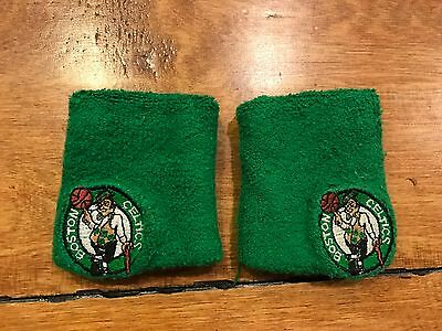Boston Celtics Game Used Wrist Bands