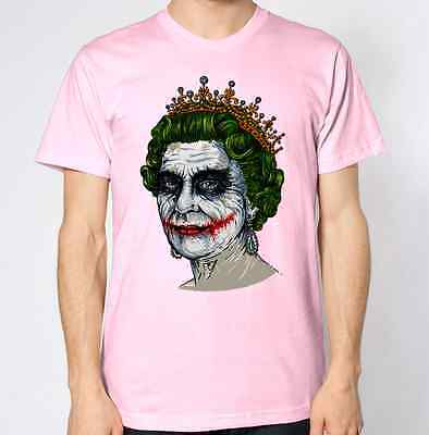 The Queen T-Shirt Your Majesty Top Bansky UK England Britain British Royal Tee