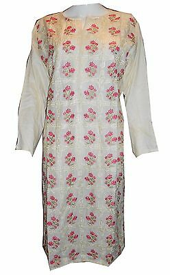 New Women Ladies Kurta Embroidery Top Ethnic Dress Kameez Ladies Pakistan Indian
