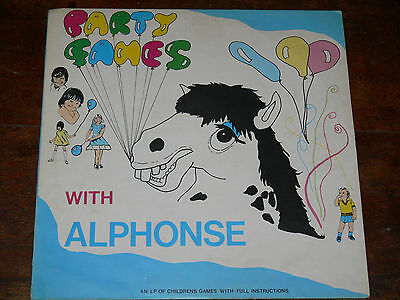 Party Games With Alphonse LP ♬ KID PSYCH FUNK/BREAKS/SAMPLES Weird/Obscure
