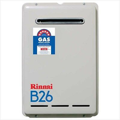 Rinnai B26L60 B26 Continuous Flow Gas Hot Water System-60°C (LPG)