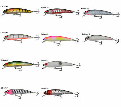 Leavey Lures - The Jew Lure - Hard Body Fishing Lure - Mulloway - Jew - Barra
