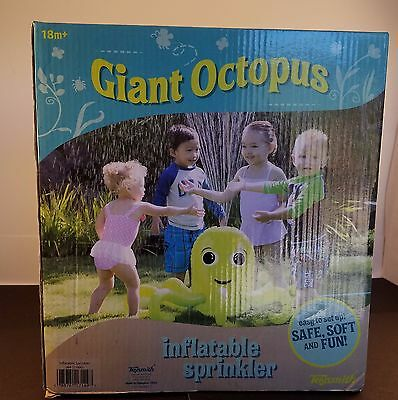 Toysmith Giant Octopus Inflatable Sprinkler 18m+