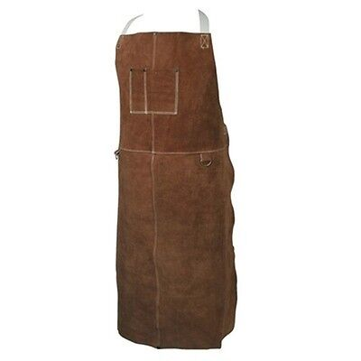Full Leather Welding Work Apron Bib