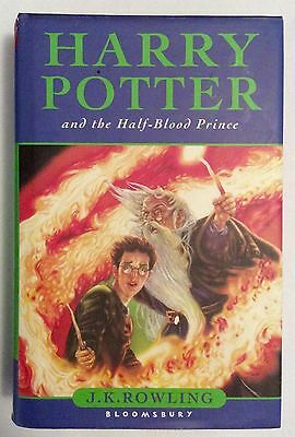 Harry Potter and the Half-Blood Prince First Edition 1st Print Page 99 Error