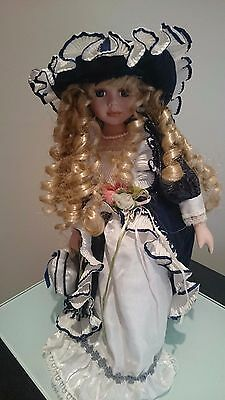 Victorian Style Homeart Porcelain Doll Beautiful Collectable
