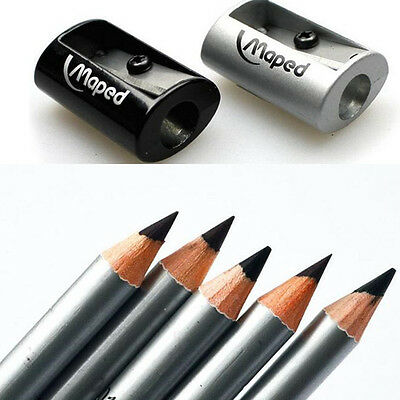 1 Pc Eyebrow Pencil Sharpener All-metal One Hole Good Quality