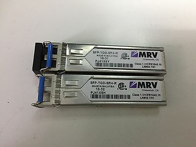 Lot of 10 SFP-DGD-SX MRV SFP Dual Rate 1//2.1 Gb//s SX 1000Base-SX GigE MM 850nm