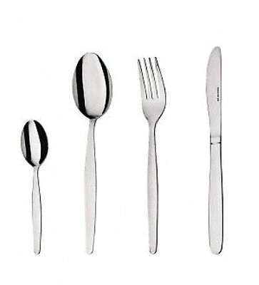 Oslo Stainless Steel Bulk Cutlery Set 144 Piece Knife Fork Spoon Teaspoon