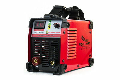 POWERMAT 250AMP (250KD PRO) inverter MMA / ARC welder with LED display