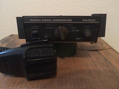 Federal signal corporation PA300