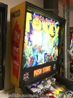 Tommy Pinball Machine Leds Added