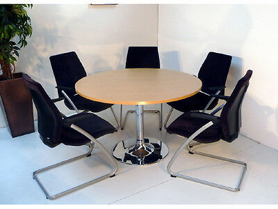 round office meeting boardroom table