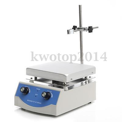 SH-3 Hot Plate Stirrer Magnetic Stirrer Mixer With Heating 17x17cm Anodised New