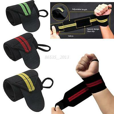Gym Sports Elastic Wristband Joint Brace Support Wrap Band Guard Wrist Protector