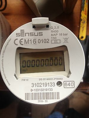 (water Meter)  SmartSensus screw In  Meter/ Thames Water Approved  3 Avaliable