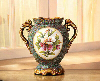 Brand New Ceramic European Retro Style Vase home decoration 31cm*30cm