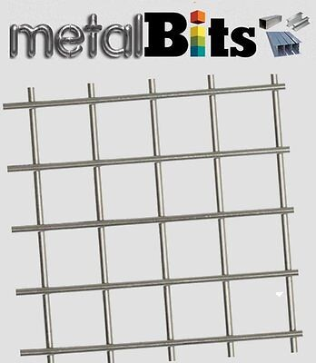 Welded Wire Mesh 6' x 3' ( 1830mm x 915mm) Various Sizes & Finishes