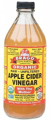 BRAGG Apple Cider Vinegar - 473ml with The Mother, Raw & Unfiltered - IN STOCK