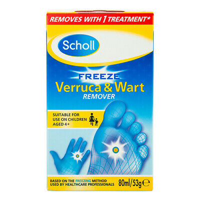 NEW Scholl Verruca And Wart Treatment Liquid Freeze Liquid Nitrogen To Remove