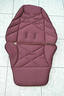 Mamas and Papas URBO Sola Zoom Glide Plum Mulberry Replacement Seat Cover Fabric