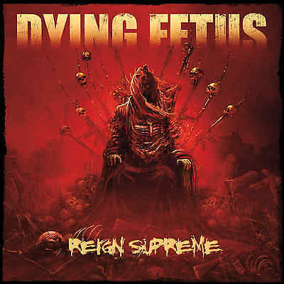 DYING FETUS - Reign Supreme ALBUM COVER Print Poster 12 x 12